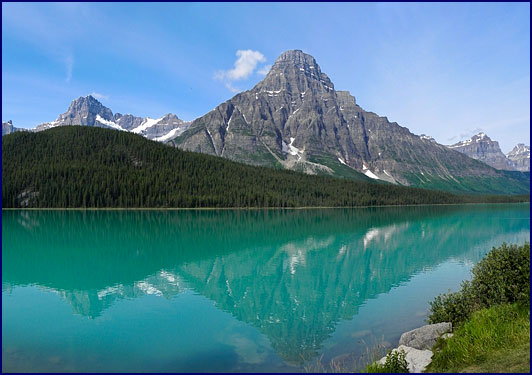 Waterfowl Lake, Alberta, Canada